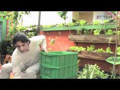 Como fazer uma composteira doméstica para reciclar o próprio lixo - YouTube