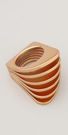 rose gold colored Vita Fede    Futtoro Ring  Style #:VITAF20060