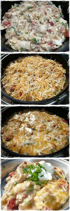 Dude Ranch Chicken Recipe ~ quick, cheesy, spicy, ...