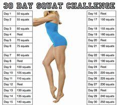 30 Jours de Challenge objectif squat !/30 day  of squat challenge  /trucsdenana #Healty