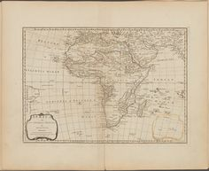 Africa and its several regions From New York Public Library Digital Collections.