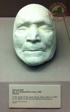 Sitting Bull Plaster Life Mask