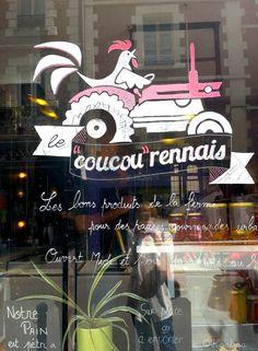 Le Coucou Rennais - Rennes I Resto bio I http://coucourennais.fr/ I Du lundi au samedi, midi et soir