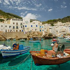Cala Dogana - Levanzo, Sicily.  Cant wait to see it this summer!