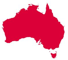 Australia is the largest country in the world, occupying an entire continent of some million square kilometres. Australia Fun Facts, Australia Map, Largest Countries, Countries Of The World, Language School, Continents, English Language, Prison, Around The Worlds