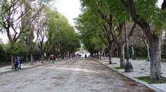 Towards Zappeion Megaron in the center of Athens, Greece