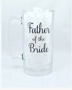 Father of the Bride gift  father of the bride by OhSoSweetandSassy