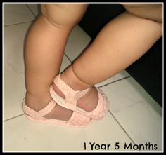 """My 1st Pink Sandal"" As a 1st time mom I never wanted to miss a single moment my baby was enjoying."