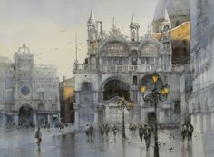 Watercolour by Chien Chung Wei