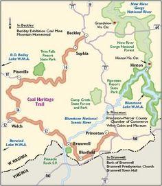 "Scenic Roads In West Virginia | TLC ""Scenic Drive in West Virginia: Coal Heritage Trail"""