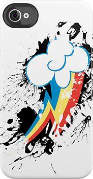 Rainbow Dash Splatter Mark