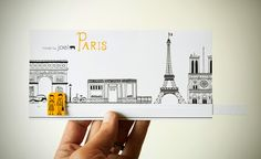 Made by Joel DIY Animated Walkthrough Paris Card for Valentines Day Craft
