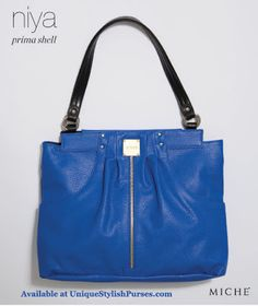 Miche Niya Prima Shell is a bright cobalt blue purse that s perfect to jazz  up your favorite outfits. af97ff14af