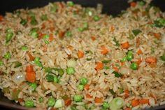 Scrumptious Vegetable Fried Rice.|CaribbeanPot.com