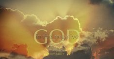 God in the Negative (Ney Bailey)   -   What's the most difficult issue in your life right now? You probably know that you should invite God into that circumstance, but how? Ney Bailey shows you some practical steps you can take that will transform the way you approach your challenges.