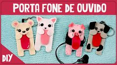 Porta fone de ouvido =DiY   Collab Ale - Projeto DIY