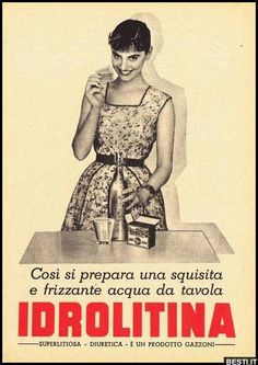 Cosi si prepara una squisita   BESTI.it - immagini divertenti, foto, barzellette, video Vintage Advertising Posters, Advertising Slogans, Print Advertising, Vintage Advertisements, Vintage Ads, Vintage Italian Posters, Poster Vintage, Old Pub, Original Vintage