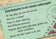 Eintrittskarte - - Grafik Werkstatt Bielefeld