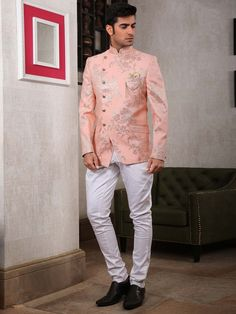Cheap Wedding Venues Near Me Code: 1700931406 Sherwani For Men Wedding, Wedding Dresses Men Indian, Wedding Dress Men, Wedding Suits, Designer Suits For Men, Designer Clothes For Men, Marriage Dress For Men, Mens Ethnic Wear, Blazer Outfits Men
