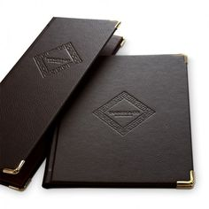 Bonded Leather Menu Covers - . The Smart Merketing Group - Hospitality. Mocha-to-Gold menus and menu covers. Mocha to Gold themed restaurant menus and menu presentation products.