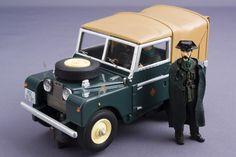 "Land Rover Serie 1 80"" (Guardia Civil importado de UK-1950) Spain."