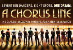 A chorus line<3