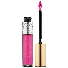 New customizable buildable lip glosses from Yves Saint Laurent. In Radiant Orchid, no less. #Sephora #coloroftheyear
