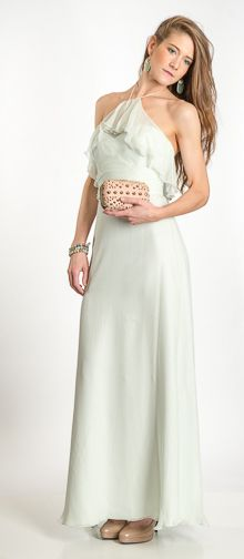 Big event on the books this spring? This gorgeous mint chiffon dress from Bella Bridesmaid is ideal for any special occasion. Pair with a studded clutch and layered bracelets to finish off the look. #valentinesday #kcstyle #parkplaceleawood #kcweddings #chiffon #dress #fashion #parkplacelookbook