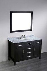 49'' Bosconi SB-252-6 Contemporary Single Vanity #HomeRemodel #BathroomRemodel #BlondyBathHome #BathroomVanity