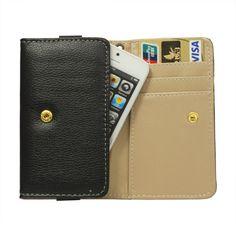 Köp Plånboksväska Apple iPhone 5/5S/5C svart online: http://www.phonelife.se/planboksvaska-apple-iphone-5-5s-5c-svart