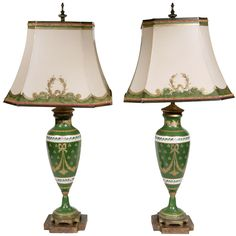 1stdibs | Pair of 19th Century Limoges Lamps