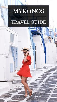 #Greece travel guide! Today's post is everything you need to do and see in Athens and Mykonos! Visions of Vogue blog