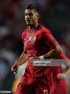 Andre Silva of Portugal during the UEFA Nations league match between Portugal v Italy at the Jose Alvalade on September 10 2018 in Lisbon Portugal Benfica Wallpaper, Big Boyz, Lisbon Portugal, Sexy Men, September 10, Hot, Football, Sports, Italy