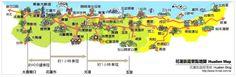 花蓮旅遊地圖