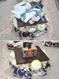 Cermin Ikea sbg alas pic taken from Kanda Dinda with Love: Wedding Review: Hantaran [Dinda to Kanda]