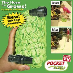 POCKET HOSE - THE HOSE THAT GROWS! #ASOTV