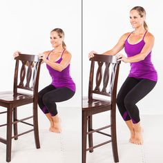 At home Pure Barre thigh series... Really squeeze the inner thighs together for bonus burn!