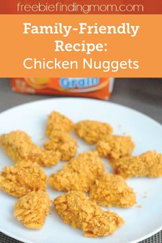 Dinnertime is made easy with this recipe for Cheese Cracker Encrusted Chicken Nuggets. Not only will the whole family enjoy their classic flavor, these crispy bites go wonderfully with a variety of side dishes.