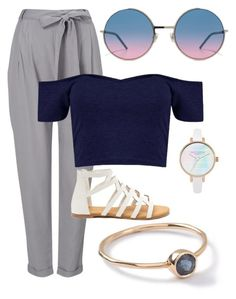 """""""blue crush"""" by mad-chesh on Polyvore featuring Phase Eight, Marc Jacobs and Ippolita"""