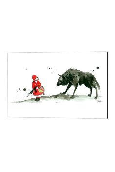 """""""Red Riding Hood"""" by Lora Zombie"""