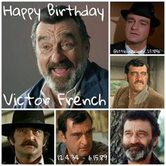 A few days late but I forgot that Sunday, Dec 4 would have been Victor French (Mr. Edwards) 82nd  birthday. I really would have loved to meet him. We miss you💔💓🙏🎉 - Qotd: What's your favourite thing about Mr. Edwards (or Victor French)? Aotd: His laugh - #littlehouseontheprairie #lhotp #happybirthday #82 #VictorFrench #mredwards #isaiahedwards #rip #wemissyou #laugh #iloveit #actor #highwaytoheaven #markgordon #angel #friend #funnyman