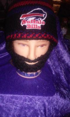 BUFFALO BILLS Bearded BeanieCustomBuffaloBills by DWedgeCreations BUFFALOBILLS #BeardedBeanie #BuffaloBillsMafia #BuffaloBillsBeanie #DWedgeCreations #Etsy #Gift by DWedgeCreations http://etsy.me/2cG8bPl via @Etsy