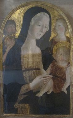 Neroccio de' Landi:  Madonna and Child with Saints John the Baptist and Mary Magdelene  (Pinacoteca Nazionale, Siena)