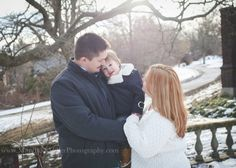 family photography pittsburgh   mellon park   mary beth miller photography winter snow photo session