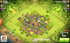 Clash of Clans Gold League Three Attack