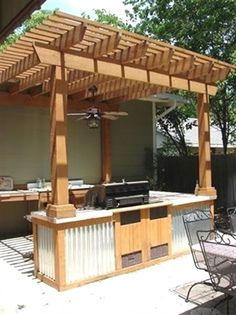 Grill Station design ideas for your backyard. #grilldesign #grillstations - Grill Station design ideas for your backyard. #grilldesign #grillstations - awesome Newberry Landscape: New Braunfels, Olmos Park, San Antonio by…More http://mymodernhouse.info/20-outdoor-grill-designs-and-what-to-look-for-when-buying/