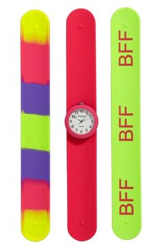 49b2c488d20 Titanium Interchangeable Slap Watch (Girls) available at  Nordstrom Girl  Fashion