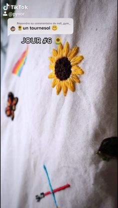 Diy Embroidery Shirt, Hand Embroidery Patterns Flowers, Hand Embroidery Videos, Embroidery Stitches Tutorial, Hand Embroidery Flowers, Embroidery On Clothes, Simple Embroidery, Hand Embroidery Designs, Broderie Simple