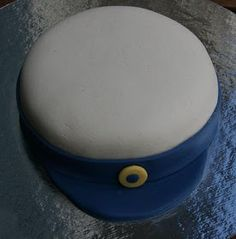 Studentmössa-tårta