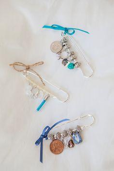 "DIY Wedding // The ""old new borrowed blue"" dress pin!"